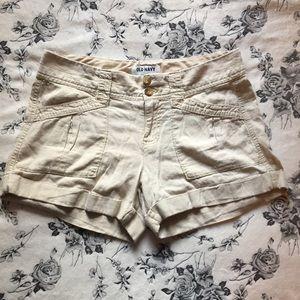 SALE ☀️Old Navy | Linen Blend Cuff Cargo Shorts
